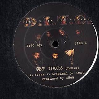 D.I.T.C. – Get Yours / Thick (VLS) (2000) (320 kbps)