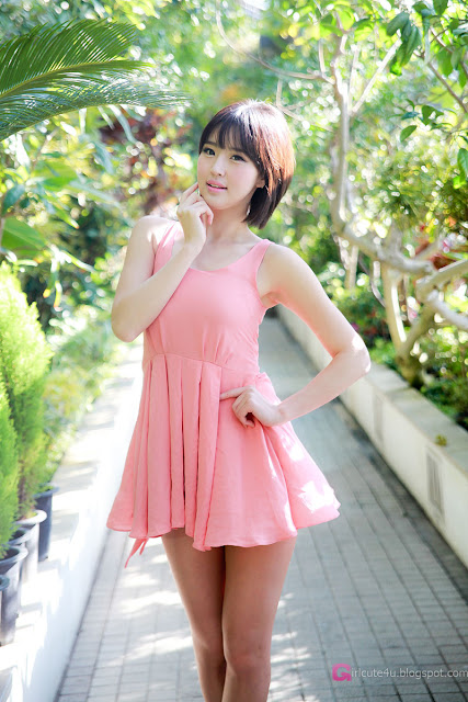 3 Choi Byeol Ha in Pink -Very cute asian girl - girlcute4u.blogspot.com