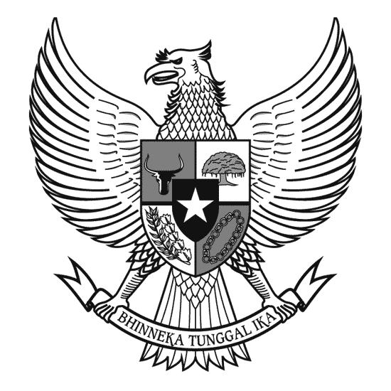 Garuda Pancasila Art Logo Garuda Pancasila