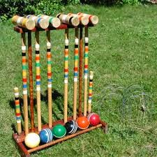 Croquet Game : Heroes, Heroines, and History: Croquet in the Wild West?