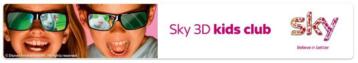 SKY  3D TV DENIA SPECIALISTS - 3D TV SPAIN - SKY CARDS FOR DENIA SPAIN