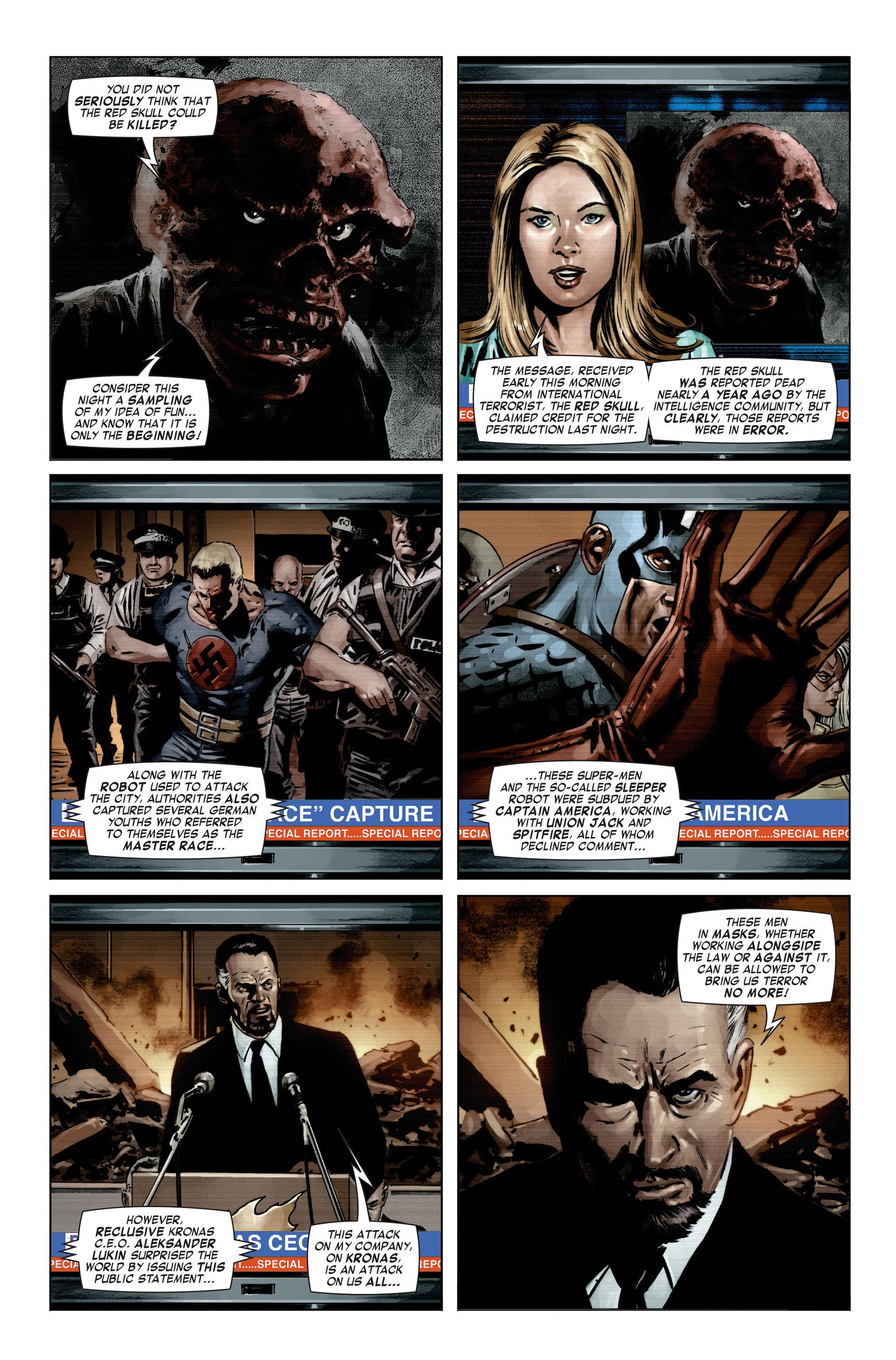 Captain America (2005) Issue #21 #21 - English 18