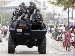 military in neighborhood