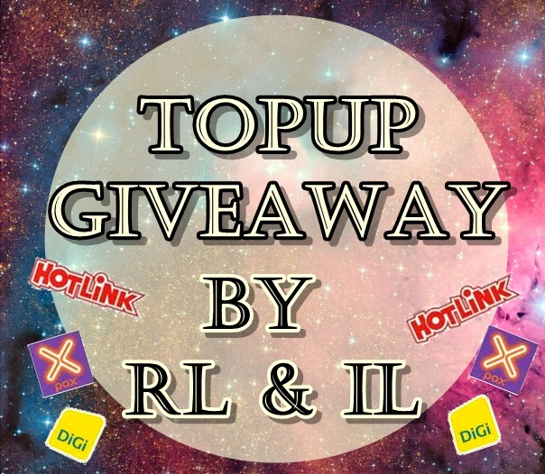 1st Topup Giveaway by RL & IL