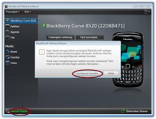 Gambar Cara Mudah Setting Blackberry Jadi Modem