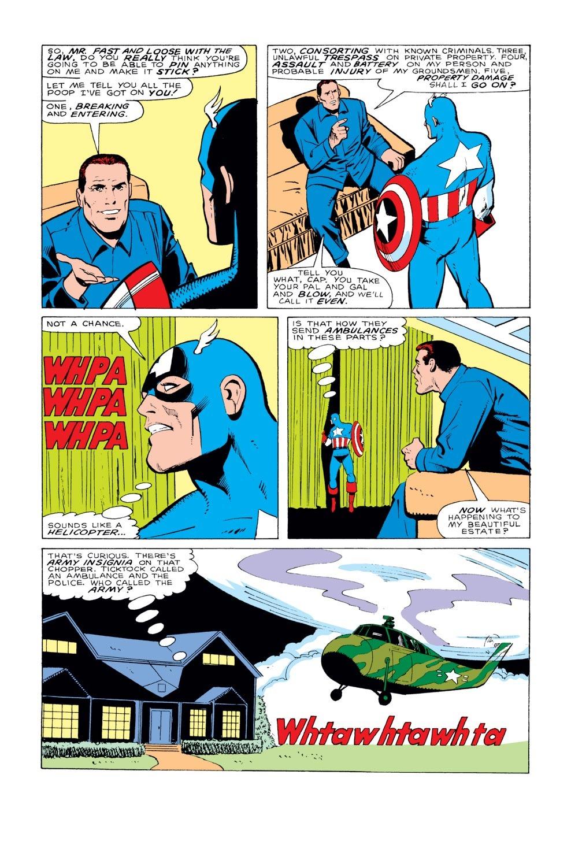 Captain America (1968) Issue #331 #260 - English 13