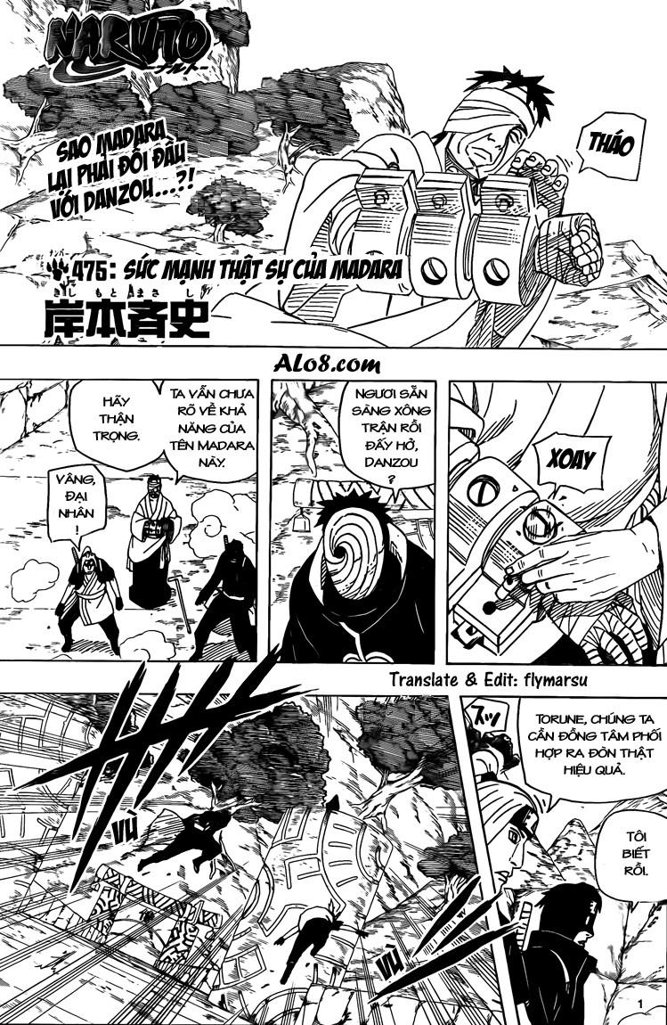 Naruto chap 475 Trang 1 - Mangak.info