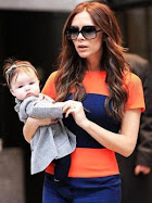 Moda&#39;nin En k Bebei: Harper Seven Beckham!