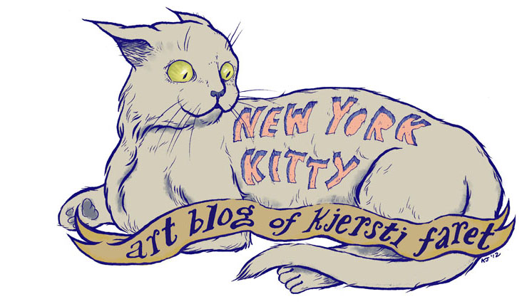 New York Kitty Art