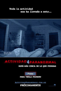 Poster de Paranormal Activity 4