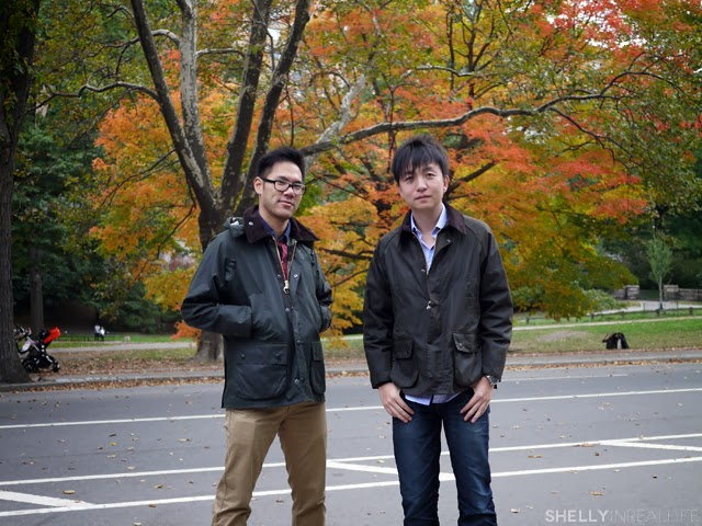 Asians in Barbour Bedale
