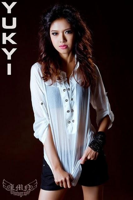 Yu Kyi,myanmar model