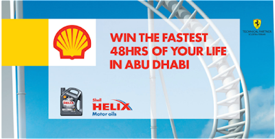 Shell Helix 'Ferrari World' Contest