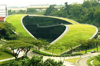 universitas hijau, green university, green design, konsep hijau