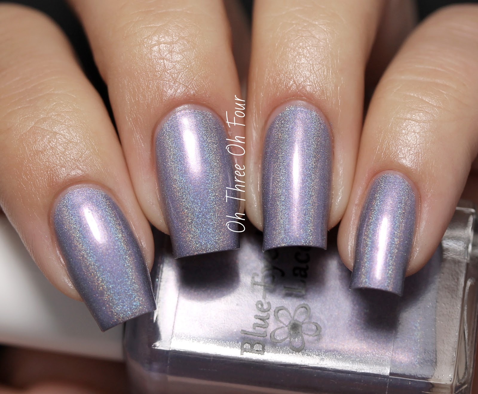 Blue-Eyed Girl Lacquer Love Makes You Do the Wacky Swatch