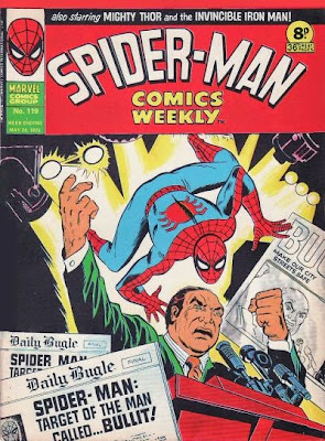 Spider-Man Comics Weekly #119, Bullitt