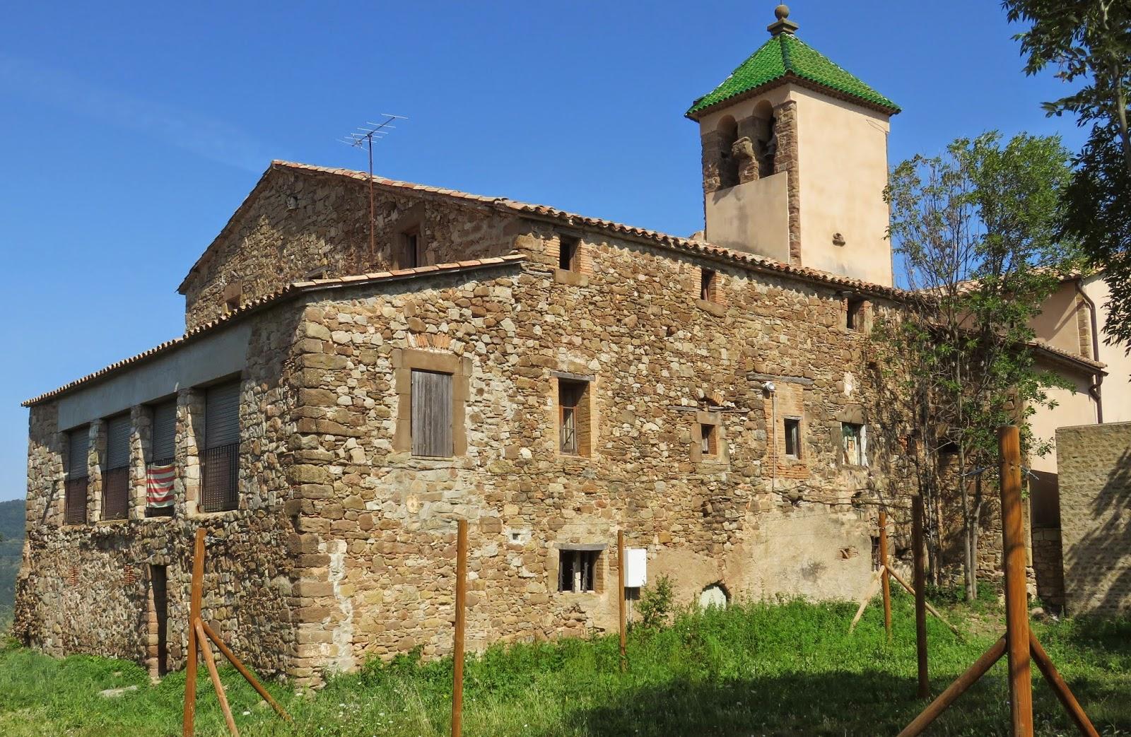 Església de Sant Quirze i Santa Julita de Muntanyola o Cal Campaner.