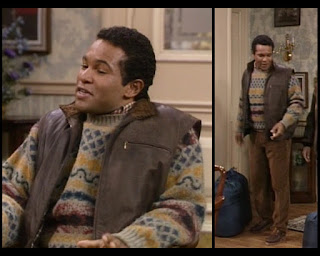Cosby Show Huxtable fashion blog 80s sitcom Elvin Thibideaux Geoffrey Owens