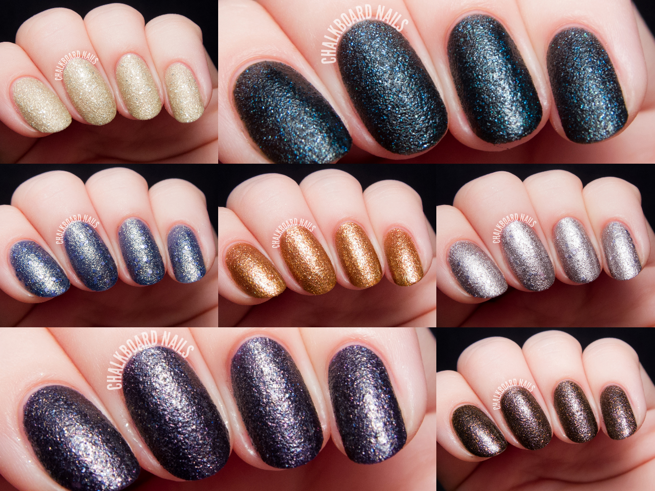 Color Club Seven Deadly Sins Collection via @chalkboardnails