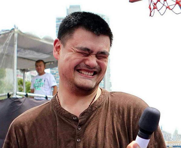Yao Ming Face The Basketball Machine...