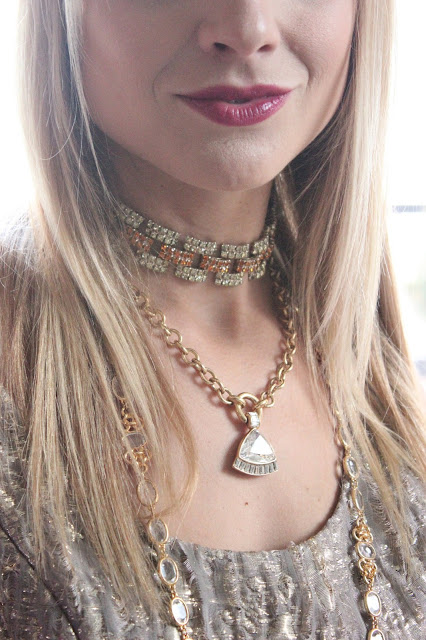 Layered Vintage Necklaces