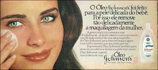 propaganda óleo Johnson's anos 70; moda anos 70; propaganda anos 70; história da década de 70; reclames anos 70; brazil in the 70s; Oswaldo Hernandez