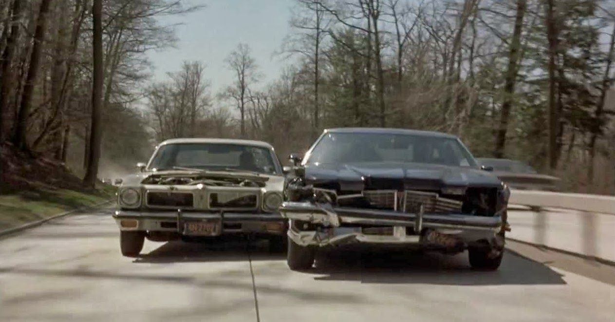 Bill Hickman Actor And Stunt Coordinator Driving Legend Of Bullitt Murdered Out 1955 Cadillac Tries To Elude Roy Scheider Famed Driver Jerry Summers Doubled For Some In The Seven Ups