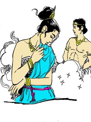 Rangge Kediwai dan Putri Rangrung