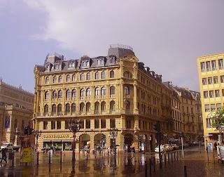 Commerzbank an der alten Oper in Frankfurt
