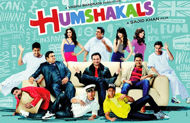 Humshakals 2014 HDTV 350MB MP3 MP4