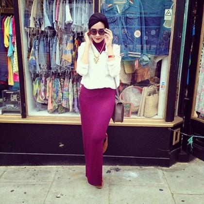 Pintar Pakai Jilbab Gaya Hijab Fashion Ala Zaskia Sungkar