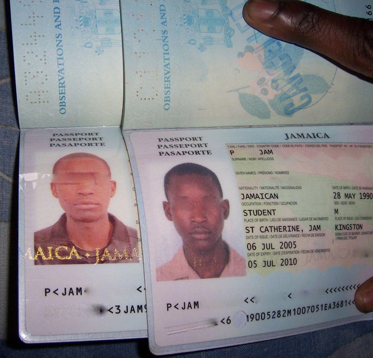 Как левую паспорта