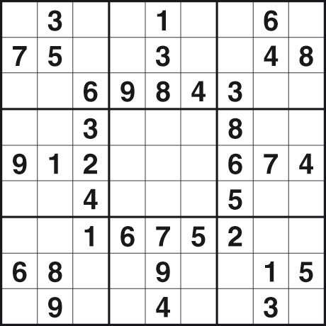 Easy Sudoku Printable on Easy Printable Sudoko