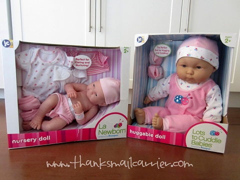 JC Toys dolls review