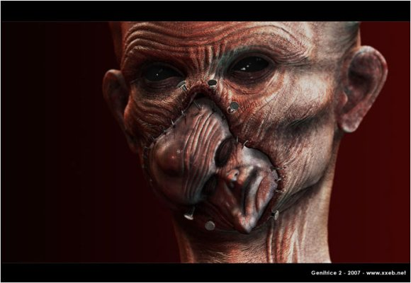 sebastien sonet ilustrações macabras pesadelo terror sombrio grotesco
