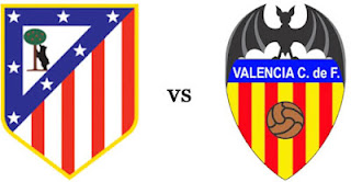 Prediksi Skor Valencia vs Atletico Madrid 27 April 2012