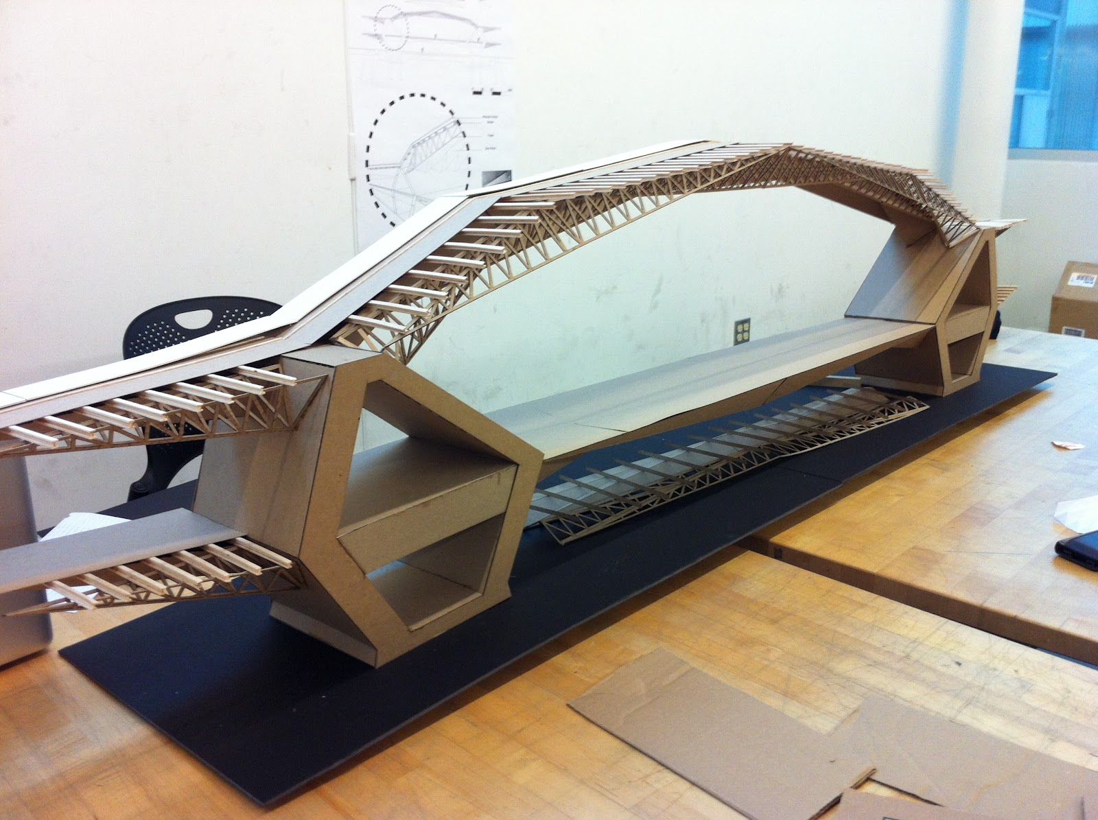 Dissertation long span structures