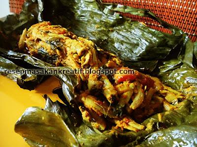 Cara Membuat Pepes Ikan Teri Resep Pedas