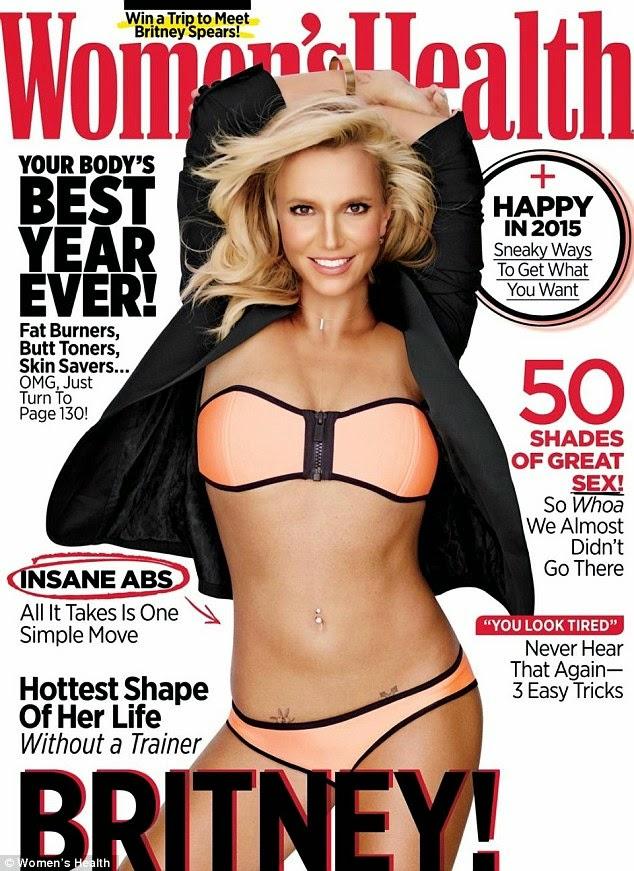 foto birtney bugil bikini photoshop majalah womens health magazine