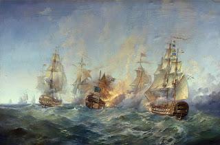Epicas Batallas Barcos Cuadros