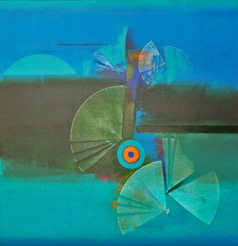 "25th Nov-20th Dec.'13: Pradarshak presents ""Conjectures"" Group Exhibition of Abstract Paintings."