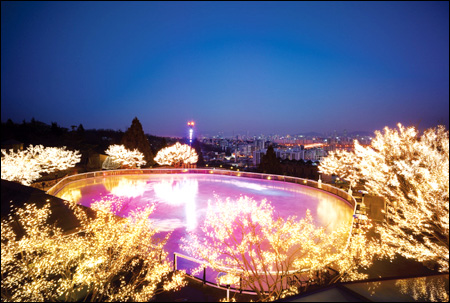 Leera Minoz: Tempat Romantis di Korea Selatan