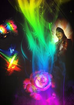 Arcoiris de cinco colores