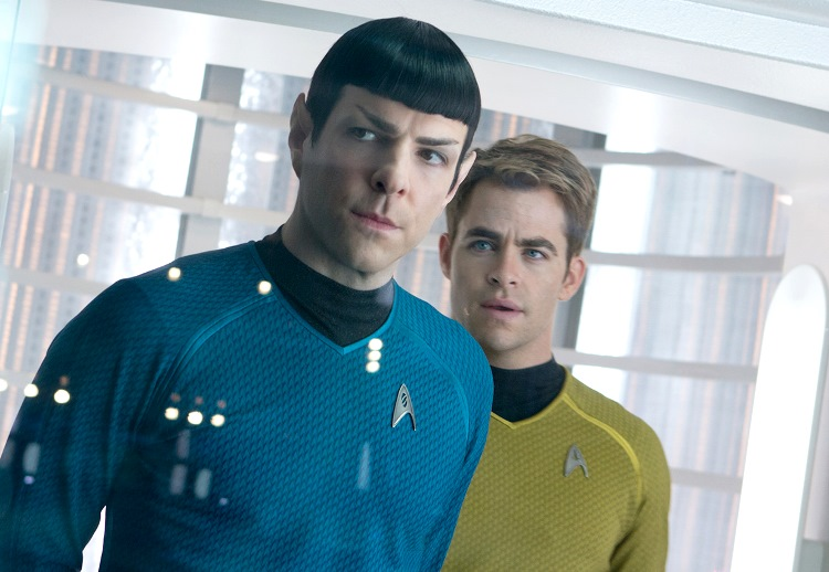 Star Trek Into Darkness Review - Spock and Kirk