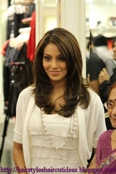 Modern Haircuts 2012: Girls Medium Length Hairstyles - Bollywood Celebrities Hairstyle Ideas