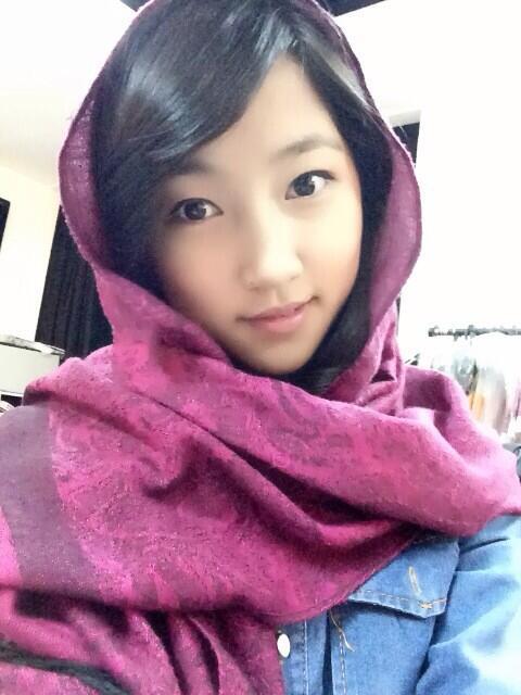 Shinta Naomi Team K JKT48 Member Pake Jilbab