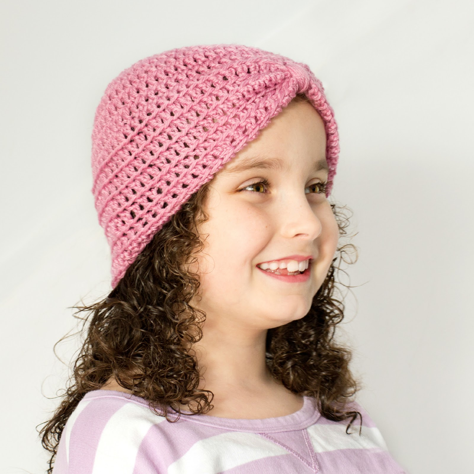 Crochet Pattern Turban Hat : Hopeful Honey Craft, Crochet, Create: Basic Turban ...