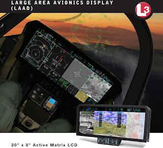 Авиационный дисплей с большой площадью экрана (LAAD)