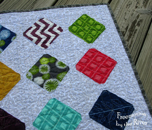 Simply Color Table runner at Freemotion by the River