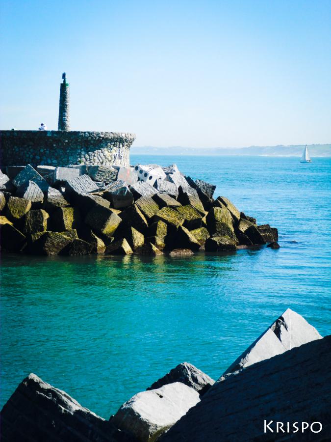 punta del puerto de hondarribia